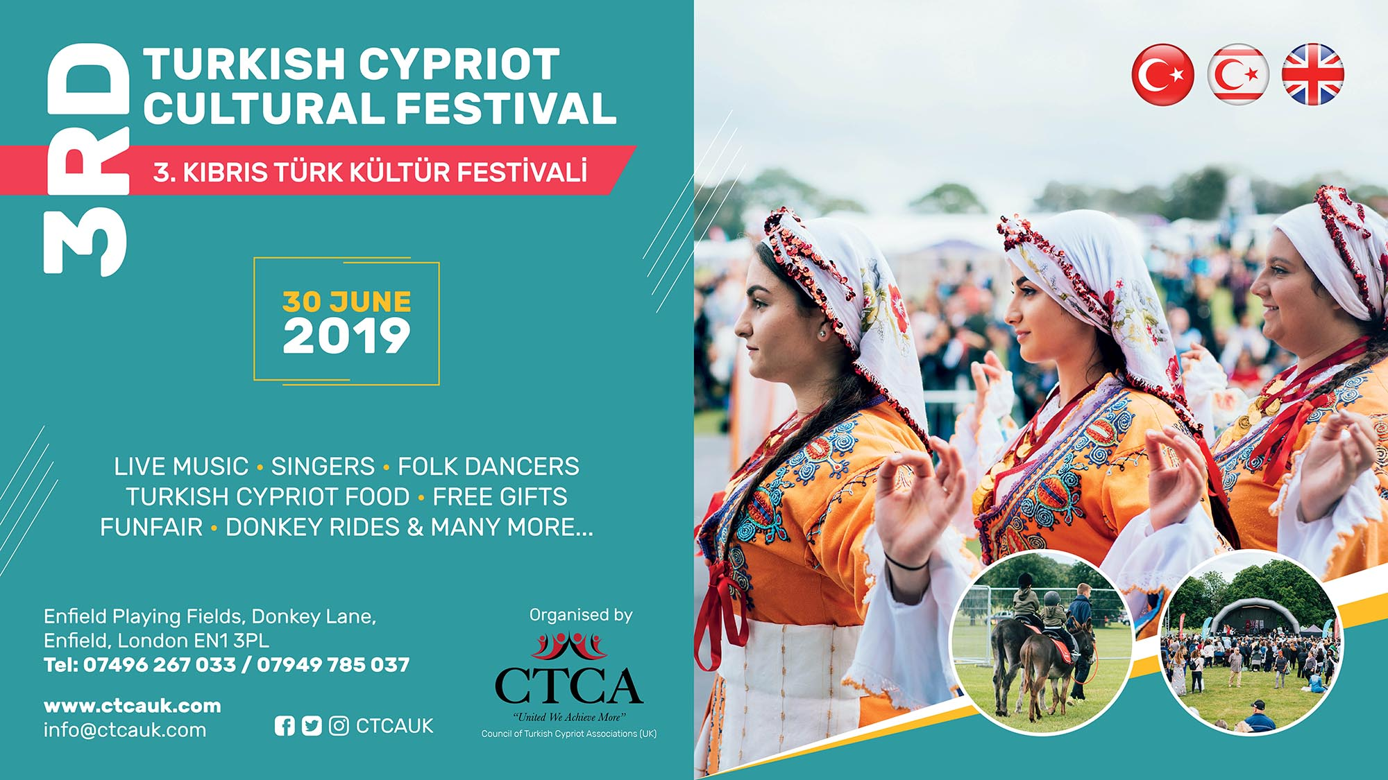 3rd Turkish Cypriot Festival 2019